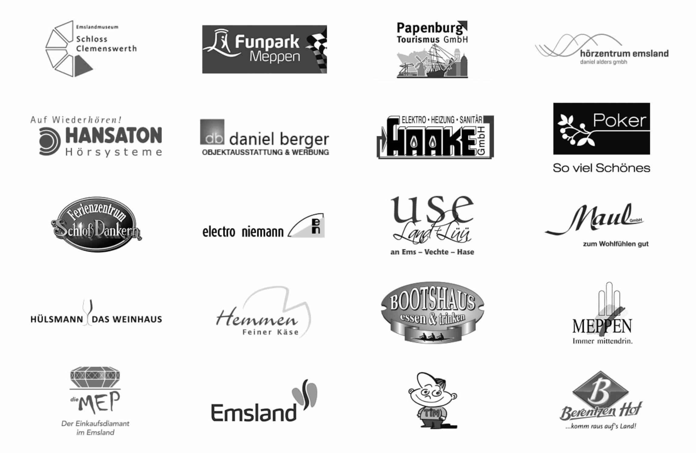 Logos unserer Werbeagentur Kunden